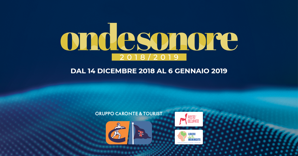 The Fourth Edition Of Onde Sonore Has Started Caronte Tourist